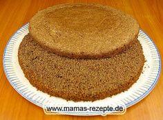 Rezept Nuss - Tortenboden auf Mamas Rezepte Homepage
