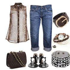 """""""Leather Accessories"""" by bellamonica on Polyvore"""