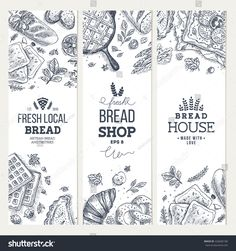 Find Bakery Background Linear Graphic Bread Banner stock images in HD and millions of other royalty-free stock photos, illustrations and vectors in the Shutterstock collection. Free Vector Art, Vector Graphics, Standing Banner Design, Bread Packaging, Bakery Branding, Juice Bar Interior, Coffee Logo, Coffee Art, Food Drawing
