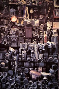 Download Old cameras stock image. Image of reflex, camera, object - 17460889