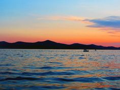 Zadar, Croatia. ' Alfred Hitchcock once claimed that the sunsets in Zadar are the most beautiful in the world.'