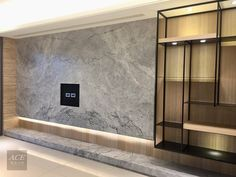 Not keen on the stone, Black marble - Salvabrani Interior Walls, Modern Interior, Interior Architecture, Tv Wall Decor, Wall Decor Design, Living Room Designs, Living Room Decor, Home Living Room, Salas Home Theater