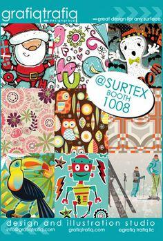 print & pattern: SURTEX 2014 - flyers part three