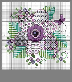 Blackwork Cross Stitch, Blackwork Embroidery, Cross Stitching, Cross Stitch Embroidery, Small Cross Stitch, Cross Stitch Flowers, Cross Stitch Designs, Cross Stitch Patterns, Blackwork Patterns