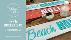 Hometalk Live DIY Demo - How To Stencil Like A Pro. Are you a Stippler or a Swirler? Watch this video to find out!
