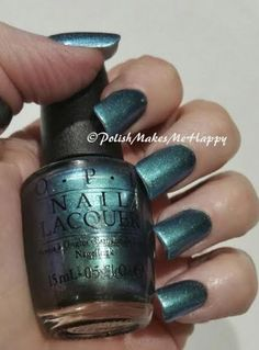 Hawaii Collection by OPI (2015). OoooLaLa!  They are gorgeous, all of them!!!! GREAT polishes. All with a GREAT formula.  Easy application.  I loved wearing each of them!!  This is This Color's Making Waves   #OPI #notd #prettynails #hawaii2015