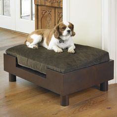 Wooden Platform Dog Sofa