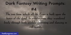 15 dark fantasy writing prompts