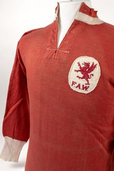 Wales shirt, 1924 (The Neville Evans Collection @ the NFM).