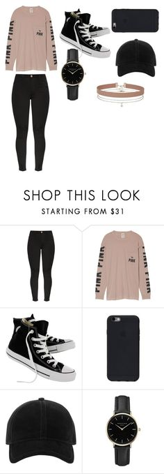 """""""What I wear 3"""" by trinity2323 ❤ liked on Polyvore featuring Victoria's Secret, Converse, rag & bone, ROSEFIELD and Miss Selfridge"""
