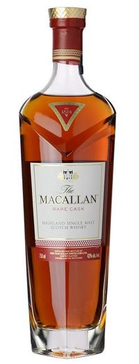 The new Macallan Rare Cask, a lovely scotch that's aged in Spanish sherry barrels.