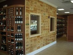 Wooden Wine Boxes, Custom Crates & Wine Panels: How many wine panels do I need to cover my wall? Wooden Apple Crates, Wooden Wine Boxes, Mini Bar At Home, Rustic Wood Box, Decoration Entree, Wine Brands, Crate Storage, Vintage Wine, French Vintage