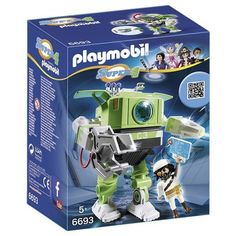 PLAYMOBIL Super 4 Cleano Robot Building Kit PLAYMOBIL®