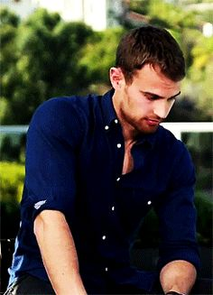 theo james, four, divergent