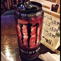 Monster Rehab. Rojo Tea + Energy.