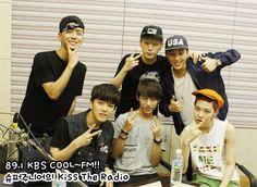 B.A.P @ Kiss the Radio