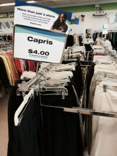 capris in every color | 33 Ridiculous Things You'll See At Every Thrift Store