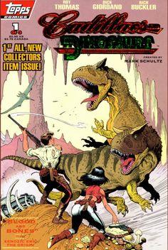 COMIC_cadillacs_and_dinos_01 #comic #cover #art
