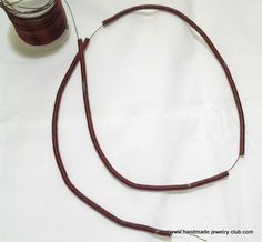 Lots of Free Jewelry Making Tutorials & Lessons: #FREE Tutorial: How to make a coiled wire bangle
