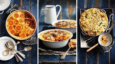 Min dinge laat jou so knus voel soos 'n lekker warm pastagebak. Maak hierdie winter 'n lasagne van winkel-ravioli en gebruik gnocchi op 'n heel ander manier. Ravioli, Gnocchi, Pizza, Van, Heel, Winter, Ethnic Recipes, Food, Lasagna