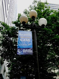 NAMI 2012 National Convention-Outdoor Custom Graphics Hanging Sign by Triumph Expo & Events, Inc., via Flickr