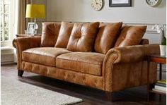 Navarro 3 Seater Pillow Back Sofa Outback - dfs