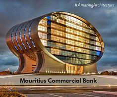 #AmazingAchitecture #Mauritius Commercial Bank