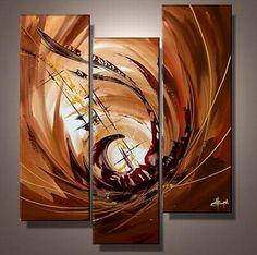 Ručně malovaný obraz - abstrakce 031