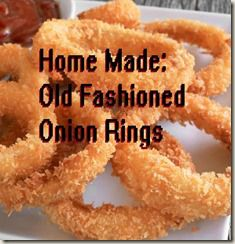 Old Fashioned Onion Rings - Breakfast, Lunch, & Dinner, Homemade Onion Rings, Baked Onion Rings, Onion Rings Recipe, Onion Ring Batter, Beer Battered Onion Rings, Bloomin Onion, Baked Onions, Those Recipe, Air Fryer Recipes