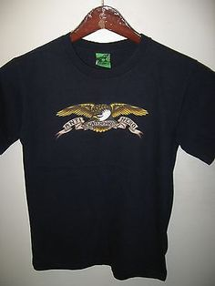 59c2db2339c Anti Hero Skateboards Skater Urban Fashion Eagle USA Skateboard Skate T  Shirt Sm