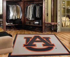 Auburn University Tigers Spirit Logo Rug Online