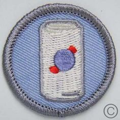 Beer Can merit badges for Team Pabst