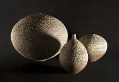 Two spheres and a bottle form. Mid fire stoneware www.brianoneillceramics.com Stoneware, Fire, Sculpture, Ceramics, Bottle, Ceramica, Pottery, Flask, Sculptures