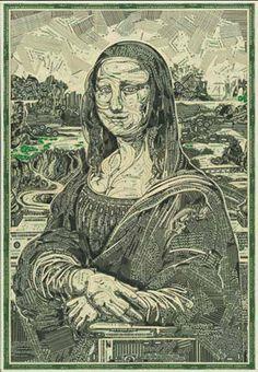 Money Lisa [Mark Wagner] (Gioconda / Mona Lisa)