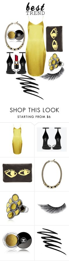 """""""Celebrate Our 10th Polyversary!"""" by irinchik ❤ liked on Polyvore featuring Topshop, Yves Saint Laurent, Isabel Marant, John Hardy, eylure, Chanel, Prescriptives, Kosta Boda, polyversary and contestentry"""
