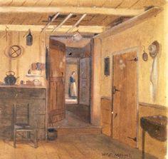 William Sidney Mount, Corner of the Mount House Kitchen