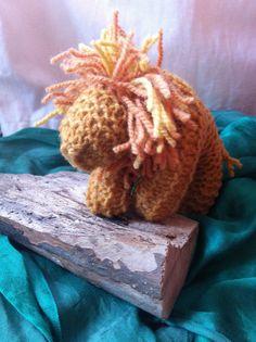 Applied Arts Handwork Program Year 1:  1st grade, Knitted Lion