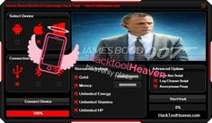 Do you want to get a James Bond World of Espionage Hack APK IPA Cheat Mod that will realey work for you ? I think that you would say yes! So get it right now from here http://hacktoolheaven.com/james-bond-world-of-espionage-hack-apk-ipa-cheat-mod.html don't miss this great chance guys and generate free gold, money and more.