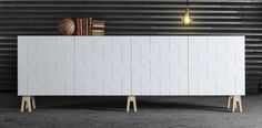 Superfront is a Swedish company that creates special cabinet fronts, handles, and legs that you can use with IKEA products like Bestå sideboards, Pax wardrobes, and even some kitchen cabinetry.