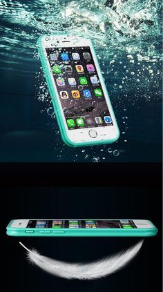 Waterproof & Dustproof iPhone 5/5s 6/6s 6Plus Beach/Swimming Case Cover.  Deluxe Edition: Waterproof  design It is so durable, waterproof, and looks great. It is slim, has vibrant colors, and isn't too slippery. It is one of the best cases we have had in a long time. Trust this case to protect your phone from pretty much anything.  Available to buy now with Free Shipping.   Color: As Shown (Please select) Size: iPhone 6/6S, 5/5S/5SE, 6 Plus/6S Material: TUP/ABS Item Weight: 0.02 lb