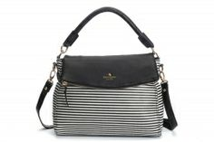 Kate Spade Outlet  Cobble Hill Fabric Little Minka Black Natural