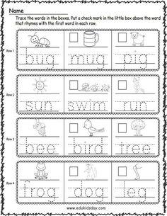 New Free Printable Spring Worksheets Kindergarten - Edukidsday.com