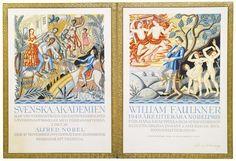 Nobel Prize William Faulkner Quotes, Nobel Prize, Impressionist, Illusions, Modern Art, Vintage World Maps, Auction, Authors, Prints