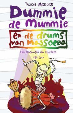 Dummie de mummie 7 - Dummie de mummie en de drums van Massoeba