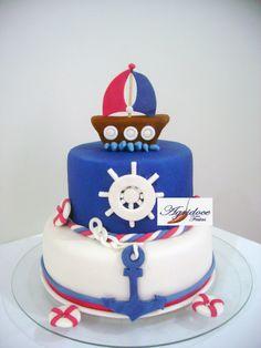 1, Baby Shower, Desserts, Food, Cake Ideas, Decorating Cakes, Sailor Cake, Fiesta Marinera, 3 Months