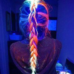 Manic Panic Blacklight Hair Dye #Colorful, #GlowInDark, #Hair                                                                                                                                                                                 More