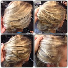 Perfect icy blonde highlights, cool highlights, platinum highlights, Austin hair salon, Kate Spoleti