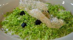 Receta de crema de bacalao y coliflor
