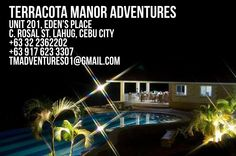 terracota manor adventures Cebu City, Terracota, Philippines, Aquarium, Real Estate, The Unit, Adventure, Places, Rose Trees