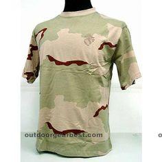 Camouflage Short Sleeve T-Shirt Desert Camo
